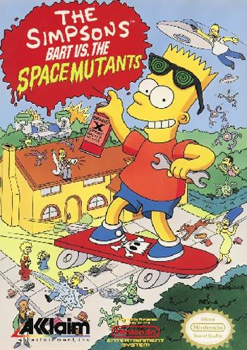 Bart vs Space Mutants