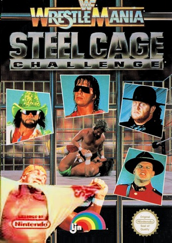 WWF Wrestlemania Steel Cage