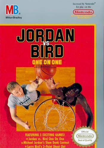 Jordan Vs. Bird One On One