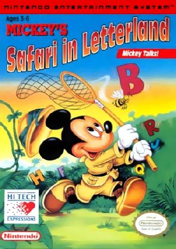 Mickeys Safari in Letterland