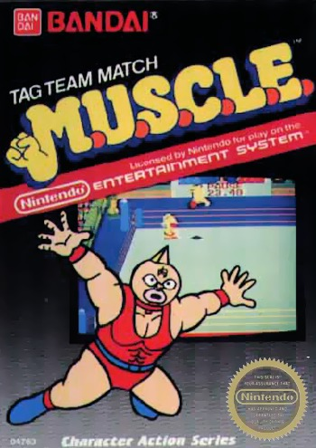 MUSCLE Tag Team Match