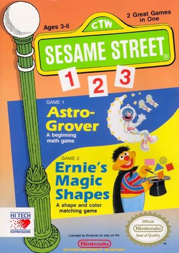 Sesame Street 1, 2, 3