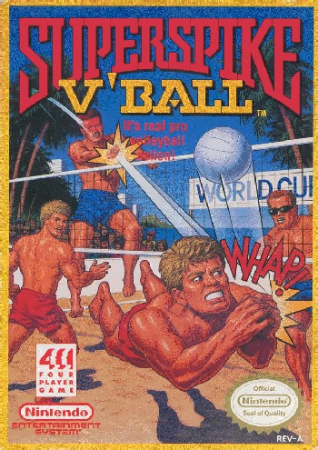 Super Spike Volleyball
