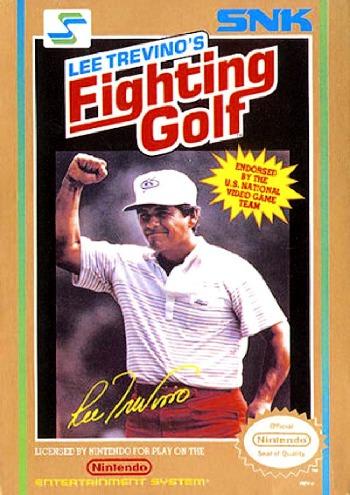 Lee Trevinos Fighting Golf