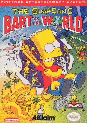 Bart vs the World