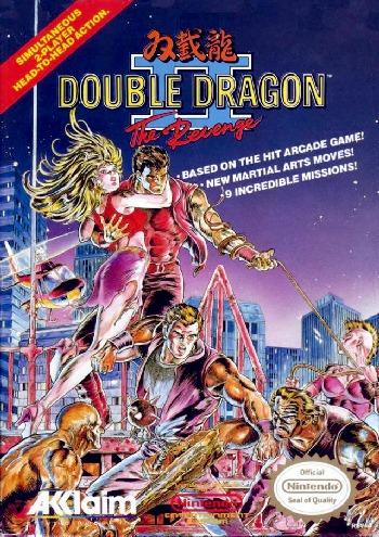 Double Dragon 2 II The Revenge