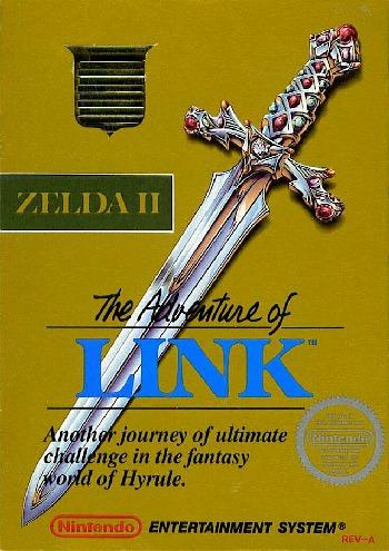 Zelda 2 - Gray Cartridge