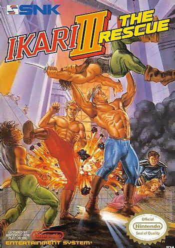 Ikari Warriors 3: The Rescue