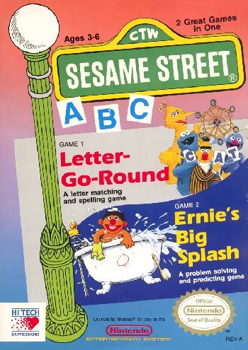 Sesame Street A, B, C