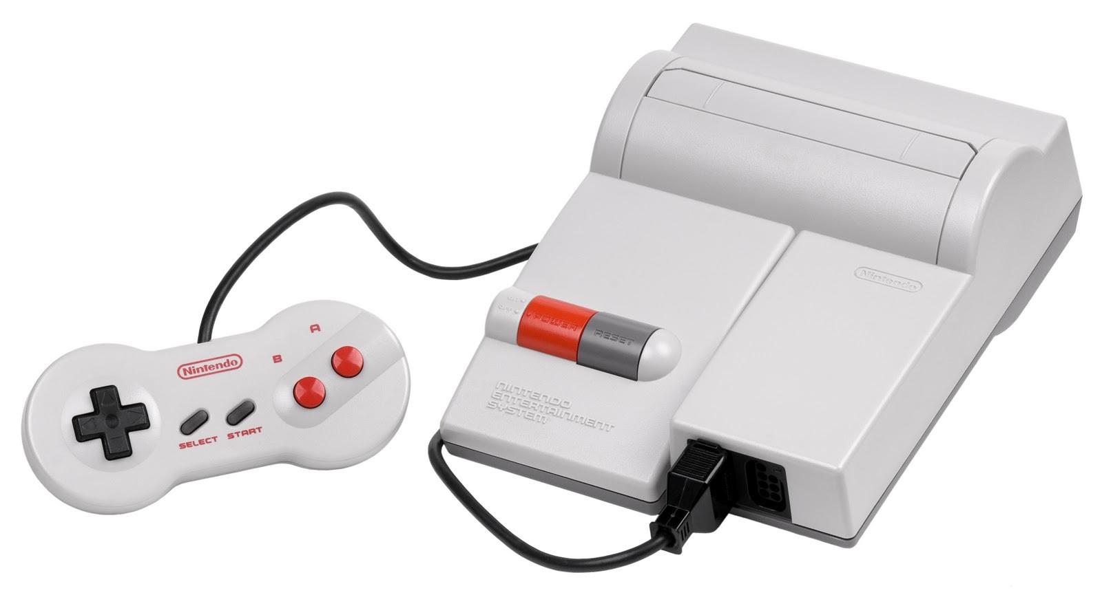 Top Loader NES Console Bundle