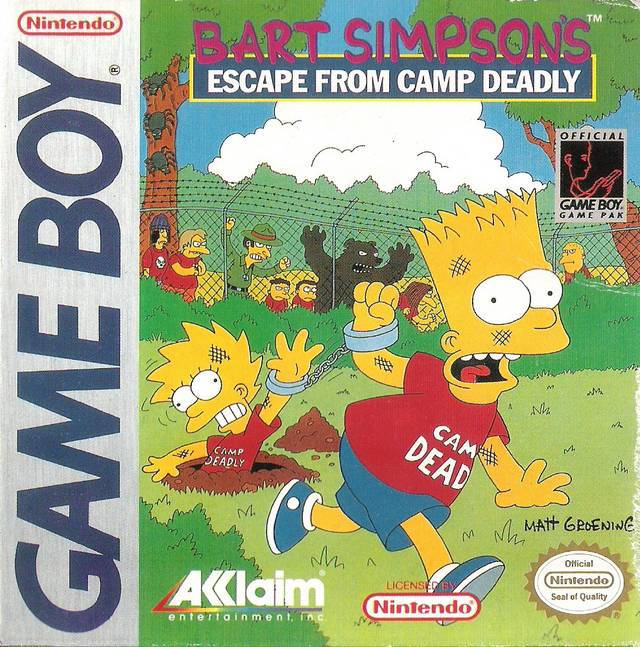 Bart Escape From Camp Deadly