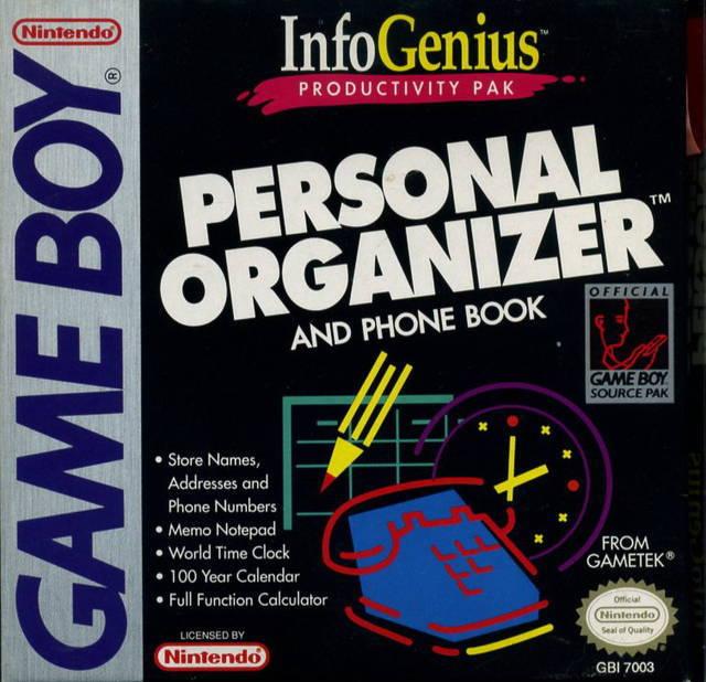 Info Genius Personal Organizer