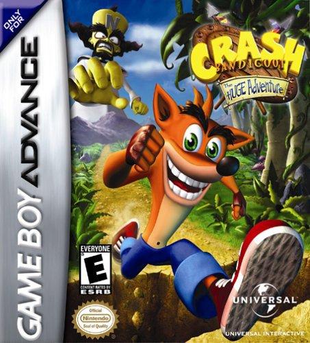Crash Bandicoot Huge Adventure