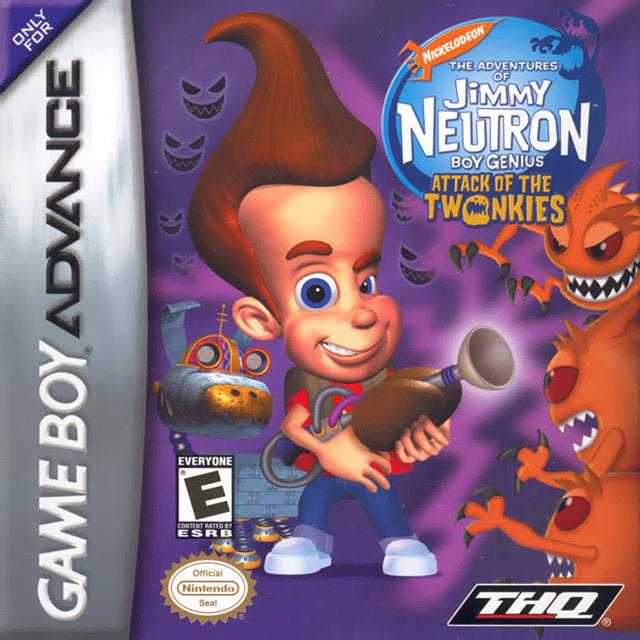Jimmy Neutron Attack Twonkies