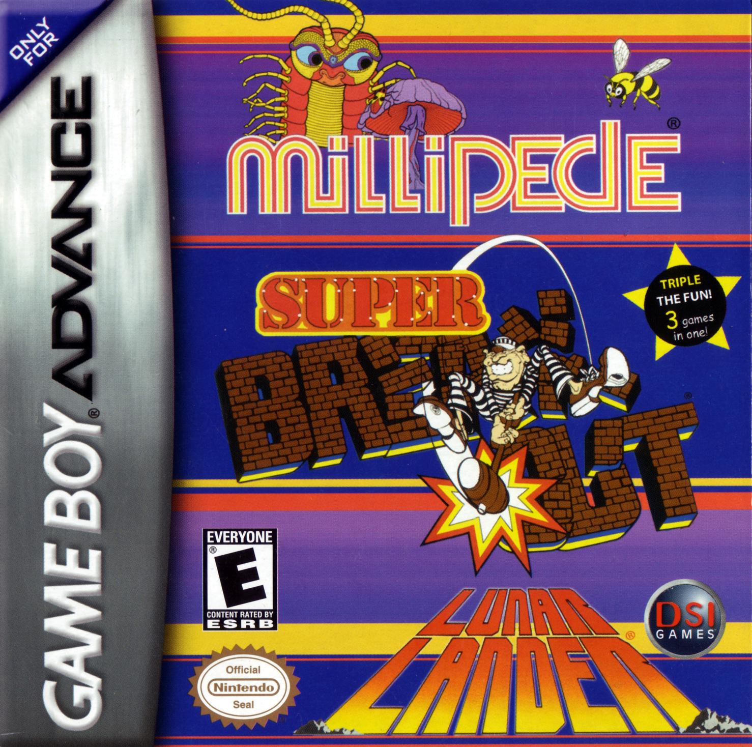 Millipede, Super Breakout,