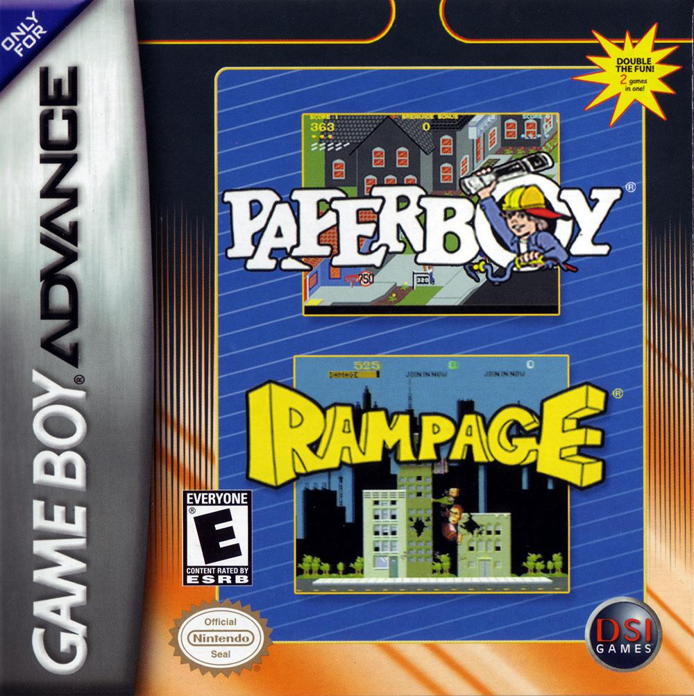 Paperboy & Rampage Compilation