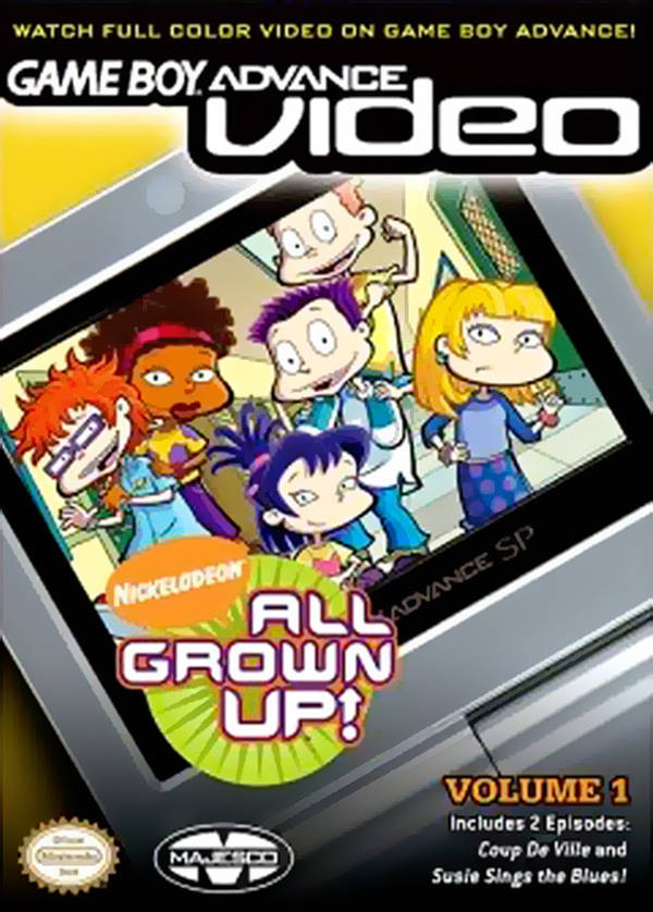 All Grown Up Volume 1 Video