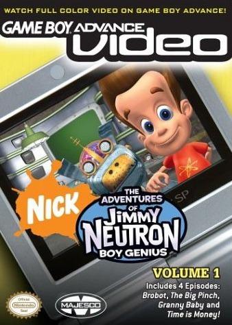 Adventure Jimmy Neutron Video