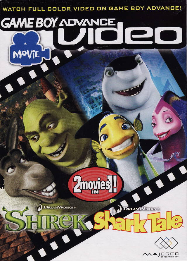 Shrek & Shark Tale Video