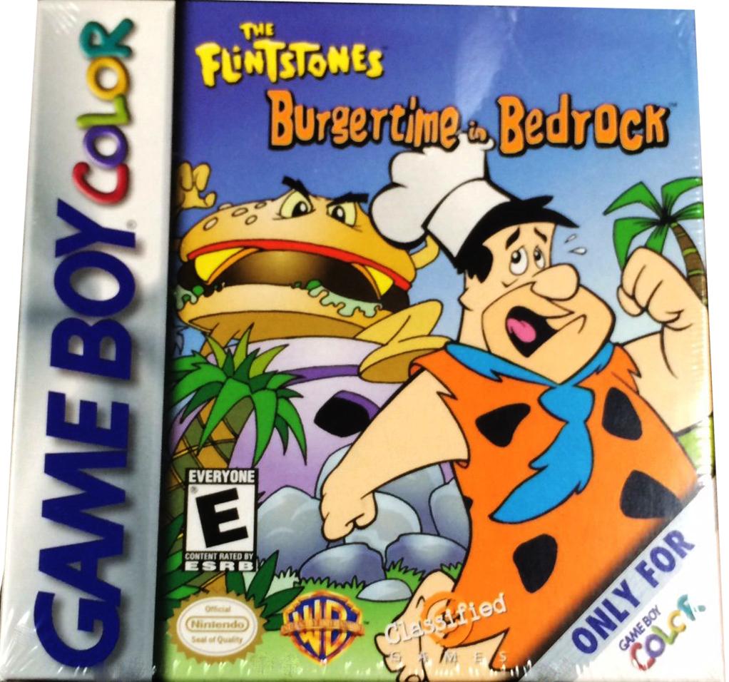 Burgertime in Bedrock