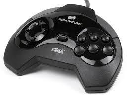 Saturn Controller - Sega Brand