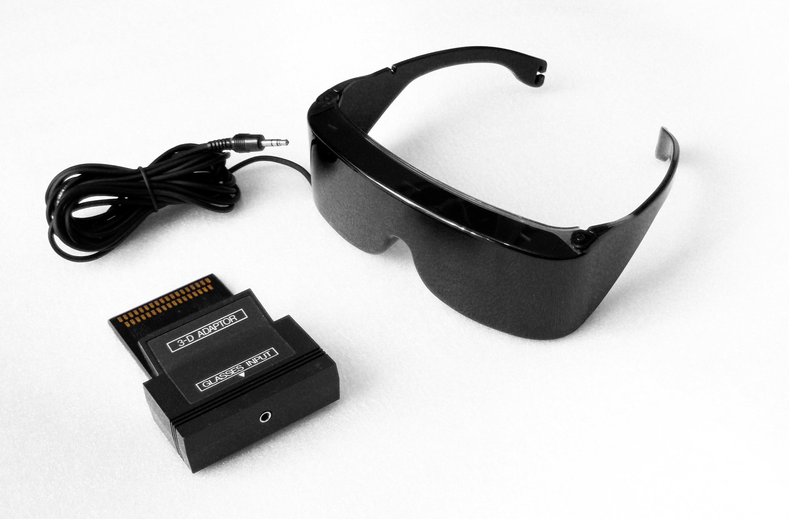 3D Glasses w/ Adapter