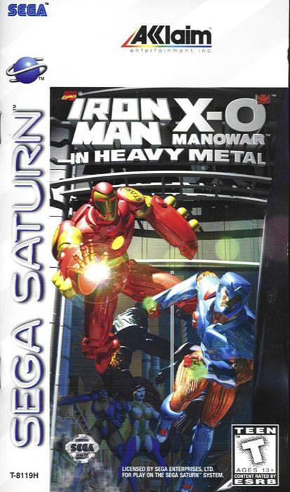 Iron Man X-O In Heavy Metal