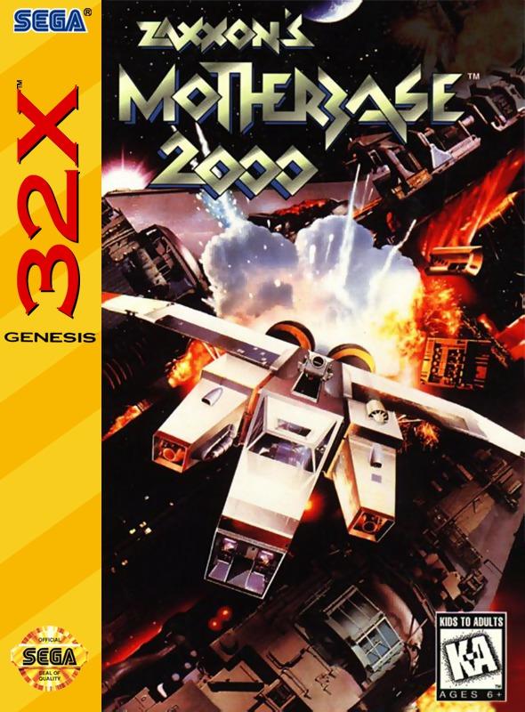Zaxxons Motherbase 2000