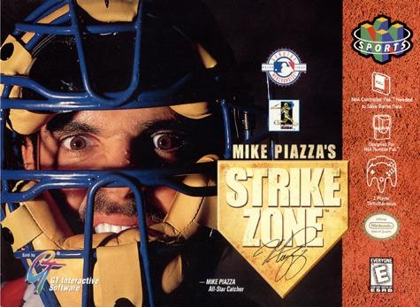 Mike Piazzas Strike Zone