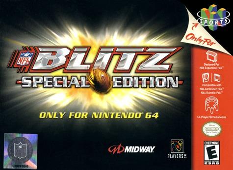 NFL Blitz Special Edition