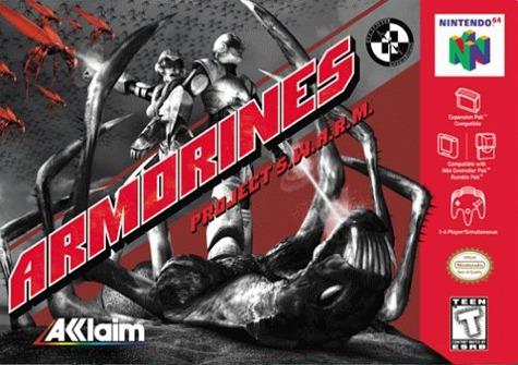 Armorines: Project SWARM