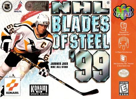 NHL Blades of Steel 99