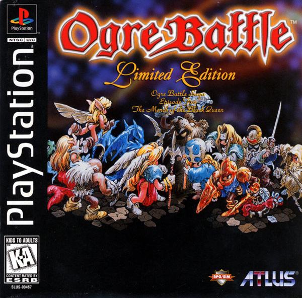 Ogre Battle Limited Edition