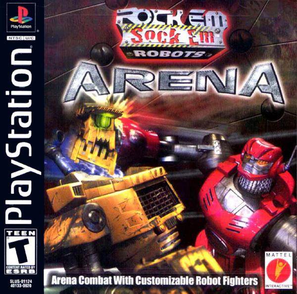 Rock em Sock em Robots Arena