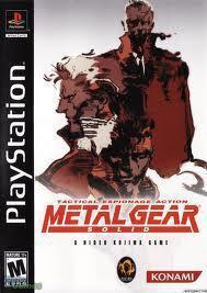 Metal Gear Solid (PS2 Case)