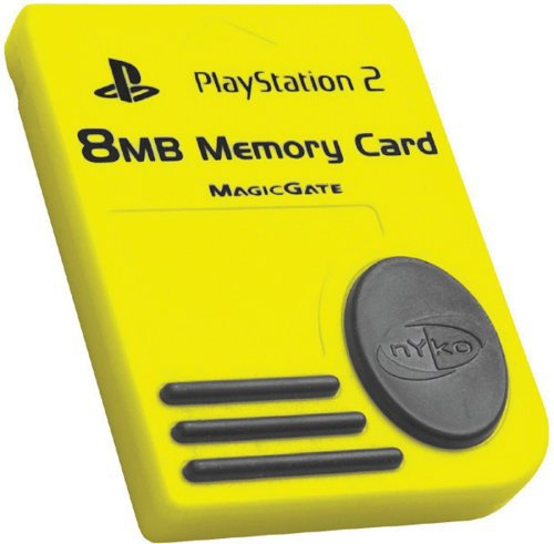 8 MB Memory Card- 3rd Party