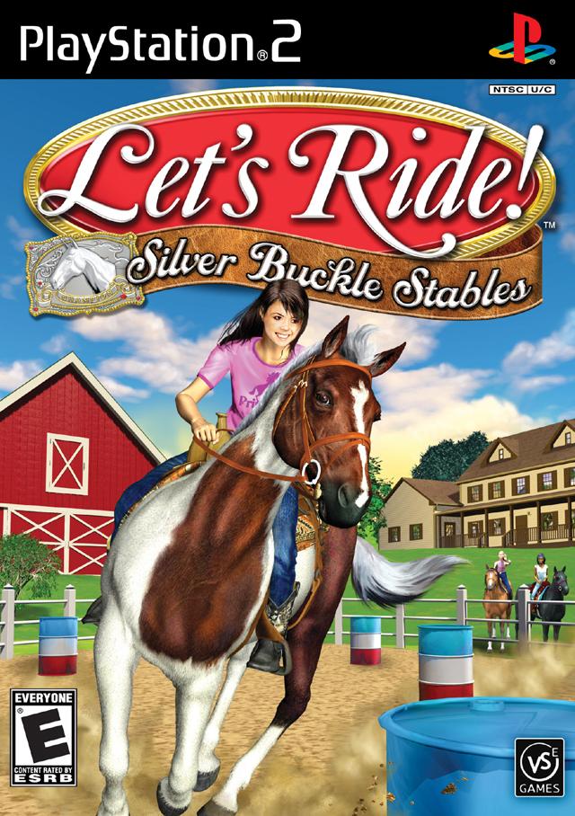 Lets Ride! Silver Buckle