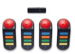 4 Buzz! Controllers - Wireless