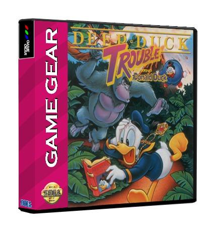 Deep Duck Trouble: Donald Duck