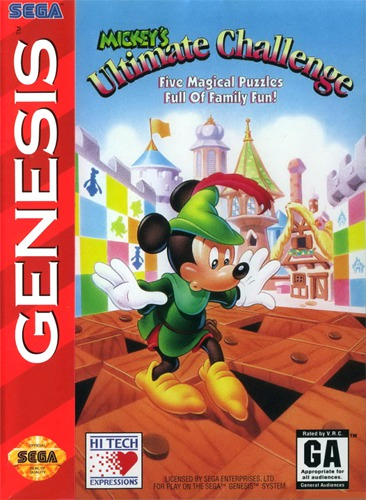 Mickeys Ultimate Challenge