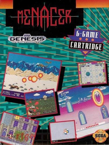 Menacer: 6 Game Cartridge