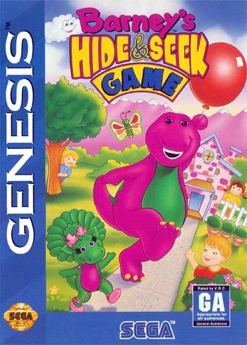 Barneys Hide & Seek Game