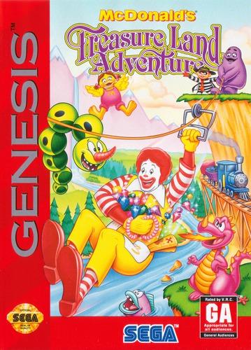 McDonalds Treasure Adventure
