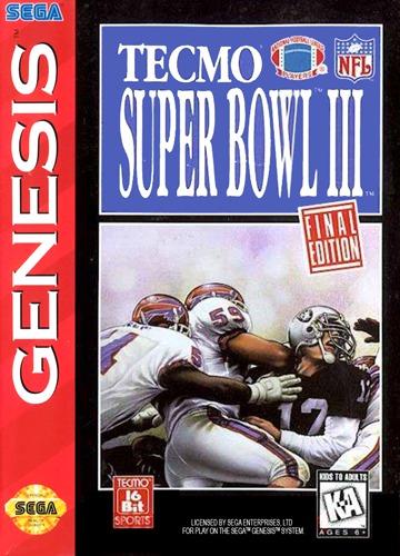 Tecmo Super Bowl III 3