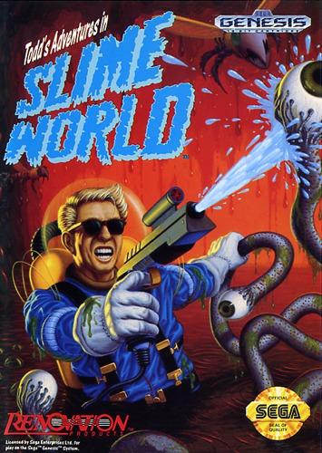 Todds Adventures Slime World