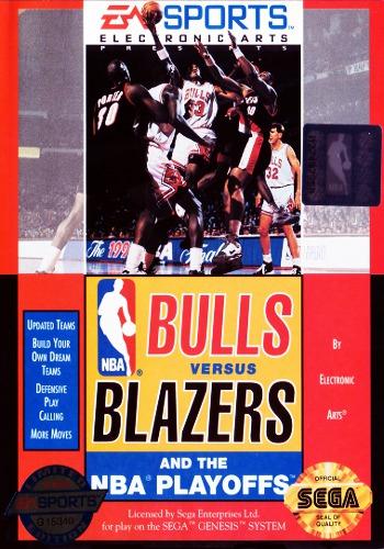 Bulls Vs. Blazers NBA Playoffs
