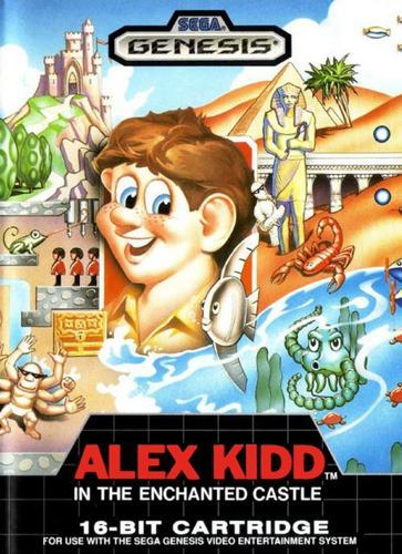 Alex Kidd In Enchanted Castle