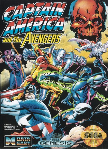 Captain America and Avengers