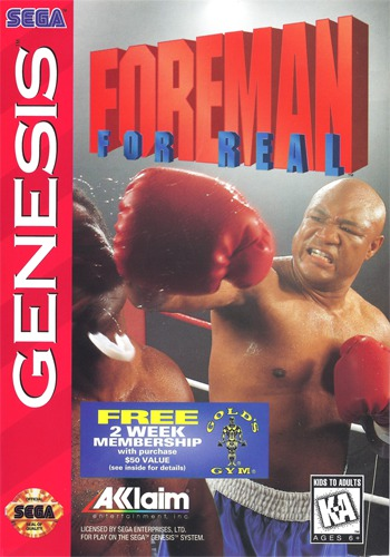 Foreman For Real Boxing