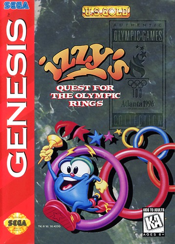 Izzys Quest for Olympic Rings